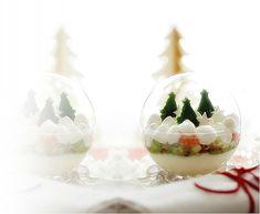 Magie de Noël à la truite fumée.......