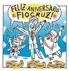 Fiocruz lança Castelo Bem Assombrado nas mídias sociais. #fiocruz #115anos #cartum #castelo #manguinhos