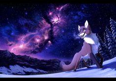 Azure Rush by Nightrizer on DeviantArt Anime Wolf Drawing, Fox Drawing, Fox Character, Character Drawing, Animal Drawings, Cool Drawings, Fennec Fox Pet, Neko, Fox Crafts