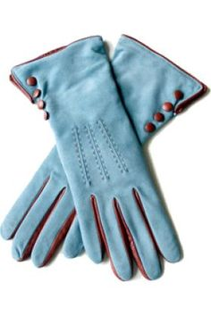Suede Blue Leather Gloves and other apparel, accessories and trends. Browse and shop 8 related looks. Gloves Fashion, Fashion Accessories, Gants Vintage, Mochila Adidas, Looks Party, Best Gloves, Vintage Gloves, Mitten Gloves, Women's Gloves