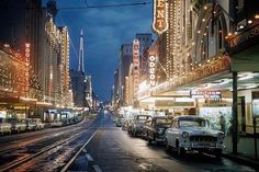 Queen St, Brisbane. 1959.