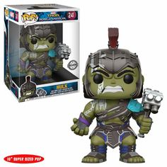 In stock and ready to rock! Get it while its hot! http://www.collekt.co.uk/products/thor-ragnarok-gladiator-hulk-10-inch?utm_campaign=social_autopilot&utm_source=pin&utm_medium=pin #Funko #funkopop #Funkouk