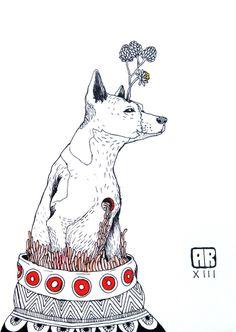 AR - A diferença entre cães e homens é que cães alimentados não mordem.