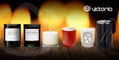 Le candele per la casa che portano calore, profumo e design