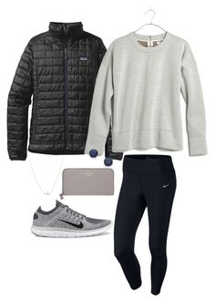 """""""Black Friday!!"""" by hbcernuto ❤ liked on Polyvore featuring BillyTheTree, Patagonia, NIKE, Madewell and Kate Spade"""