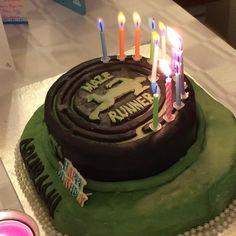 My 13th bday cake :THE MAZE RUNNER