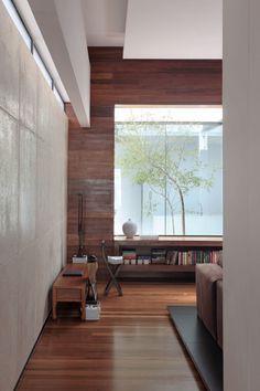 Living Room The OM House By Studio Guilherme Torres