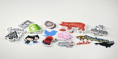 Die cut vinyl stickers are cut precisely to your design. Our cutting technology makes the most intricate cut patterns to create stickers in any shape. Custom Die Cut Stickers, Custom Sticker Printing, Nifty Crafts, Art Web, Logo Sticker, Print Logo, Die Cutting, Free Shipping, Idea Lab