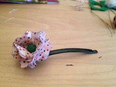 hacer flores para el pelo paso a a paso
