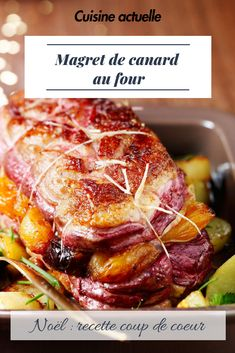Recette plat de Noël - magret de canard - recette magret - Expolore the best and the special ideas about Healthy recipes Healthy Foods To Eat, Healthy Snacks, Healthy Recipes, Duck Breast Recipe, Easy Smoothie Recipes, Healthy Smoothie, Christmas Dishes, Noel Christmas, Duck Recipes