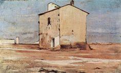 Der Schindanger in Livorno - Giovanni Fattori