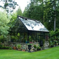 Cheap Greenhouse, Greenhouse Effect, Indoor Greenhouse, Backyard Greenhouse, Backyard Landscaping, Greenhouse Ideas, Homemade Greenhouse, Backyard Studio, Greenhouse Wedding
