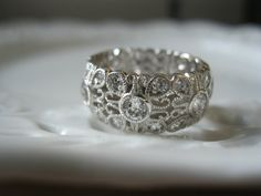 Pretty right hand antique ring