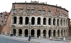 Theatre of Marcellus (Teatro de Marcelo) - Rome, Italy