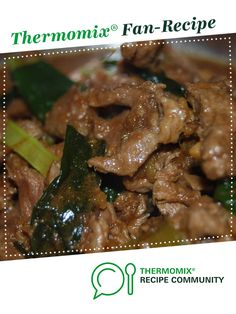 Recipe Mongolian Lamb by meisonite, learn to make this recipe easily in your kitchen machine and discover other Thermomix recipes in Main dishes - meat. Lamb Recipes, Asian Recipes, Dinner Recipes, Chinese Recipes, Yummy Recipes, Famous Recipe, Recipe Community, Main Dishes, Thermomix