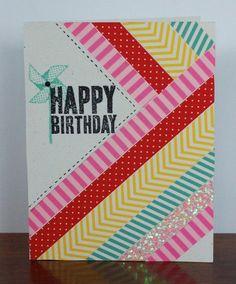 Washi Tape Cards /