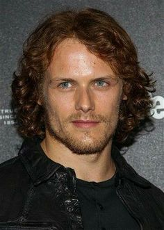 Sam Heughan. Love the red hair on him.