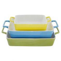 3-Piece Esmee Bakeware Set