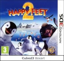 Boxart for Happy Feet Two: The Video Game on Nintendo 3DS