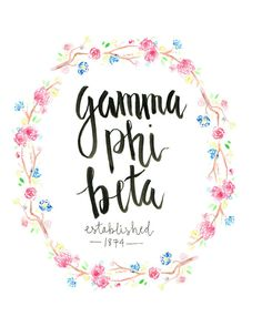 for all the gamma phi beta ladies out there if youre looking for a pretty