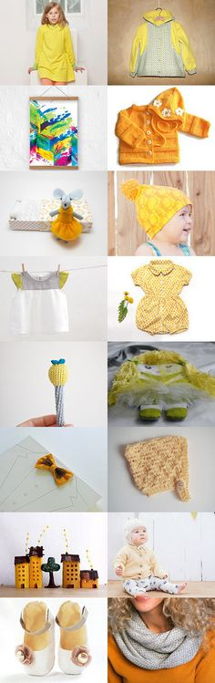 Yellow  in September by MinthaHandmade on Etsy--Pinned with TreasuryPin.com