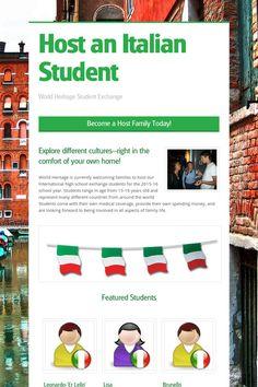 Host an Italian Student