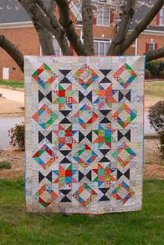 Meadow Mist Designs: Foothills Mystery Quilt - Instructions under Tutorial tab