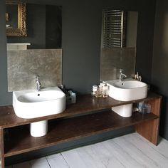 Bathroom Vanity, Bathroom, House, Powder Room, Gorgeous Bathroom, New Bathroom Ideas, Home N Decor, Refurb, Basin