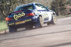 Cold weather can't stop rally cars from showing off