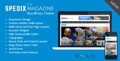 Spedix - Responsive WordPress News and Magazine Theme