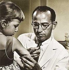 Jonas Salk, inventor of the polio vaccine. When asked what inoculation he wished he might have invented he said he wished he could inoculate children with hope.