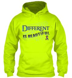 Yep we did it.. We went LIME GREEN! :)  Because Different Is Beautiful! #Autism http://autismtees.com