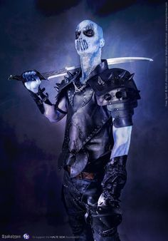 https://flic.kr/p/DaCui3 | Apokalypse | facebook : www.facebook.com/freespiritcrew website : www.freespiritcrew.com #Got #Gameofthrones #White #walkers #whitewalkers #armor #armure #cuir #soldier #warrior #guerrier #sword #Medieval #viking #nordic #war #sfx #makeup #bodypainting