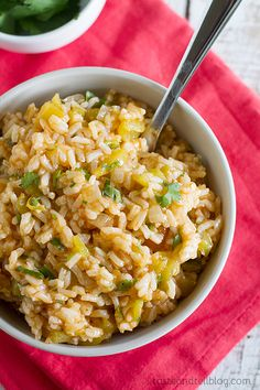 Enchilada Rice - Taste and Tell