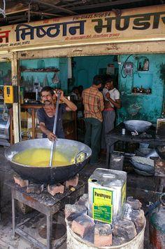 Sreet kitchen in Samode Village