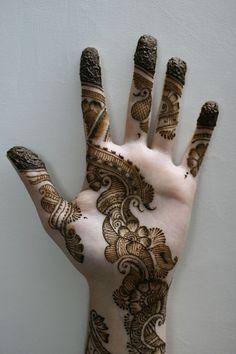 henna design.