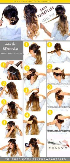 19 Best Greasy Hair Hairstyles Images Braid Bangs Hair Ideas