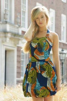 african fabric ankara = fashion