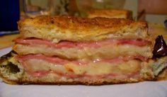 Pastel de jamón, en el microondas - Recetín