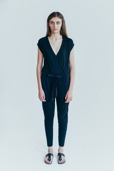 MIA Black Jumpsuit by Beaumont Organic
