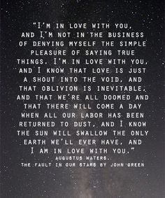 In Love With You – Love Quote