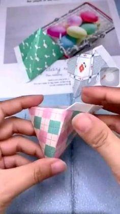 Diy Crafts Hacks, Diy Crafts For Gifts, Diy Home Crafts, Easy Diy Crafts, Diy Crafts Videos, Creative Crafts, Diy Videos, Cool Paper Crafts, Paper Crafts Origami
