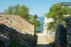 Stone house on small idyllic island in Drvenik Veliki