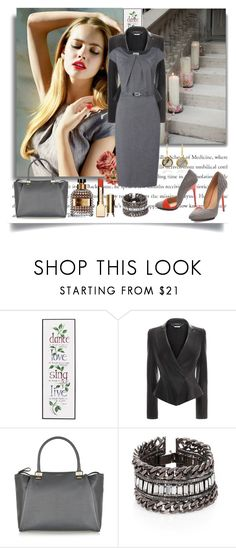 """""""... Can't wait to get home ..."""" by jan-harris ❤ liked on Polyvore featuring Paule Ka, H&M, WALL, Alexander McQueen, Lanvin, DANNIJO and Coralia Leets"""