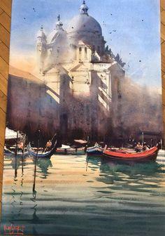 Alvaro Castagnet     Santa Maria della Salutte- Venice