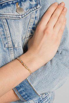 Chan Luu - Gold-tone Labradorite Cuff - one size