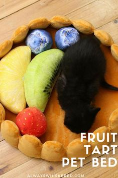 Fruit tart pet bed, cats & dogs. Sale. $55.90. Includes shipping worldwide.