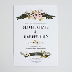 Audrey Invitations 25% off  for a limited time! :)