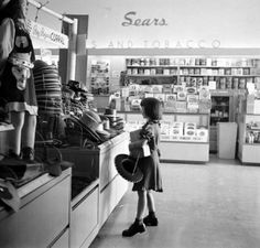 I will never forget the smell of cashews roasting at the nut counter. Mom and I always bought some. Warm and fresh. The Sears store at 21st & Yale in Tulsa Ok. in the 60's.