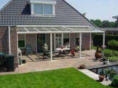 Transparant dak voor voldoende licht in huis.